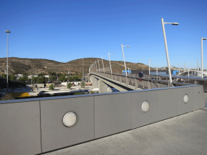 Pedestrian Bridge at San Ysidro