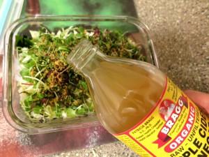 Seaweed Salad-Add Vinegar
