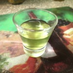 Seaweed Salad - Shot O Seaweed Water