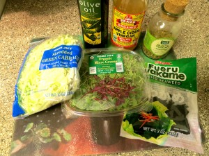 Seaweed Salad - Ingredients