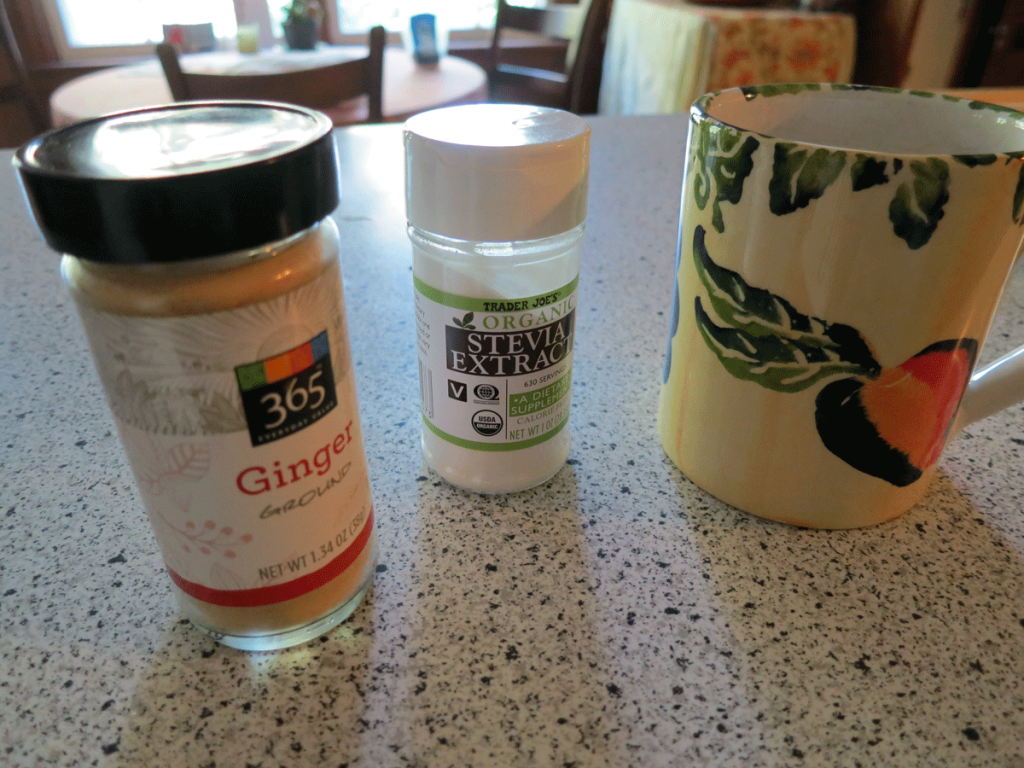 Stevia-Ginger Tea Ingredients