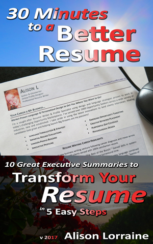 30 Minutes to a Better Resume